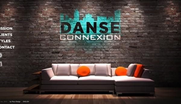 Danse Connexion Inc.  Site Web HTML
