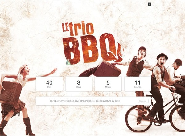Le Trio BBQ  Splash Page