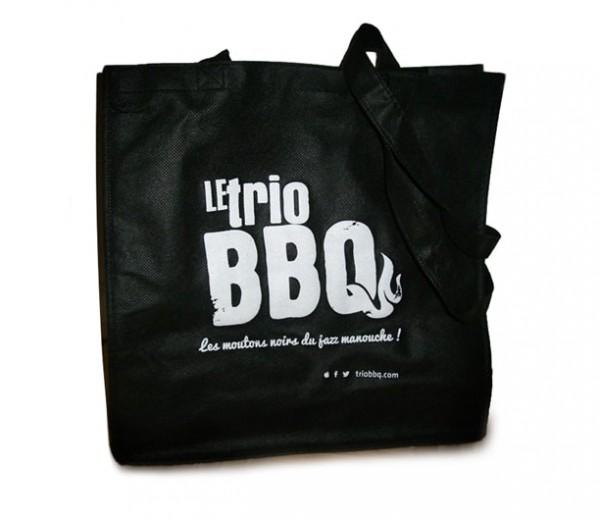 Le Trio BBQ  sac réutilisable