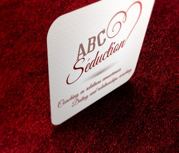 Abc Séduction Cartes d'affaires