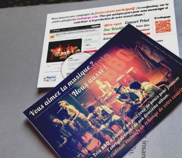 Le Trio BBQ  Promo Crowdfunding