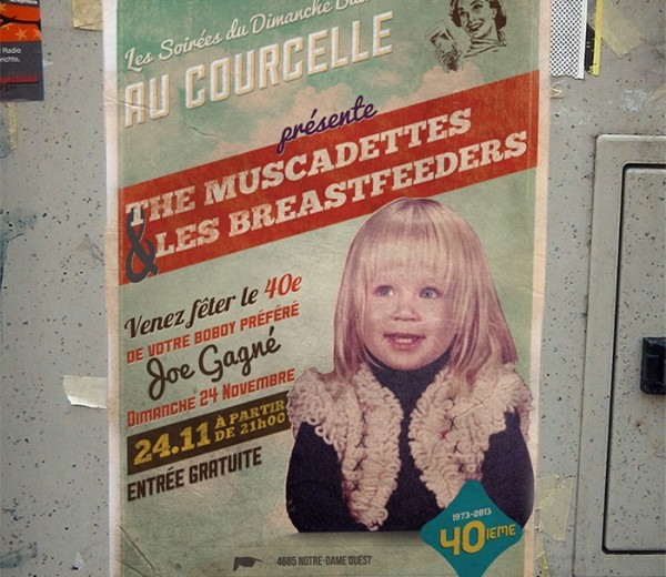 The Muscadettes  Affiche