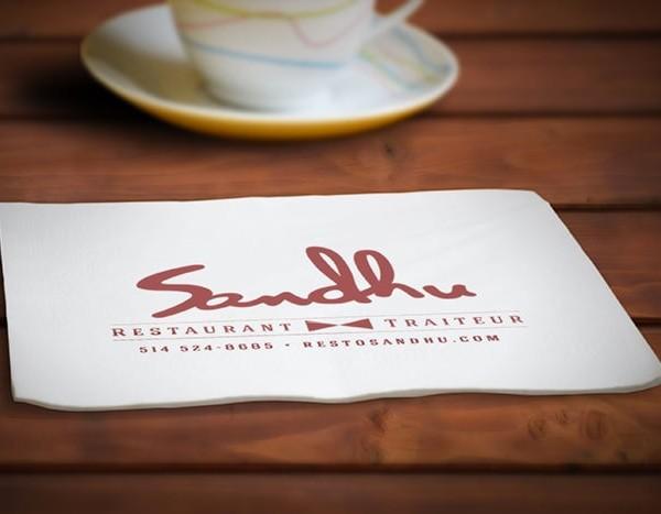 Restaurant Sandhu  Napkins