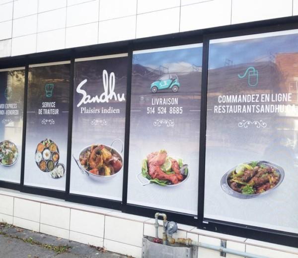 SandhuStickers vitrine