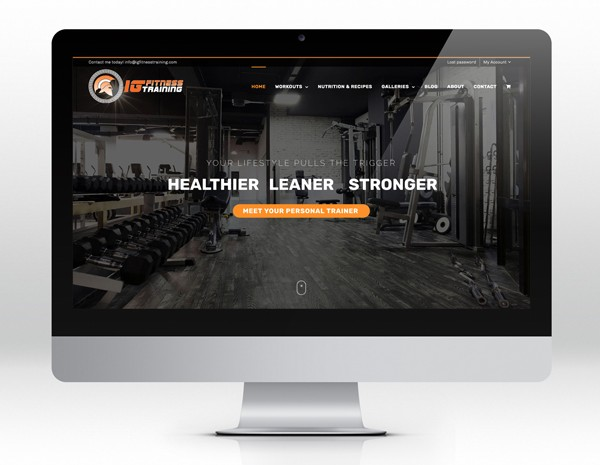 IG FITNESS TRAINING Site web